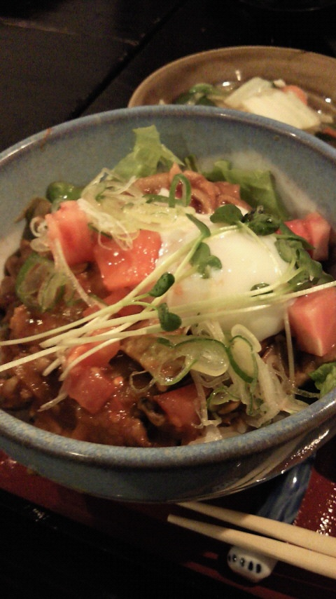 "【Gifu】""Tomato-Don"" in Gero-Onsen"