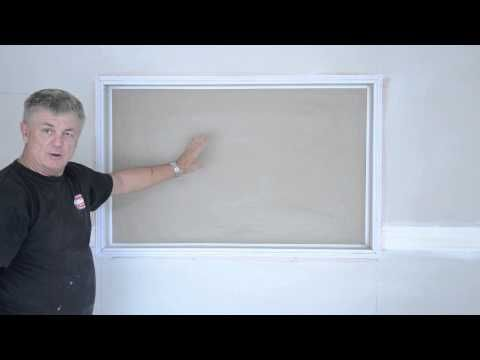 Fast & Strong Plasterboard Reveals | Wallboard Tool Company
