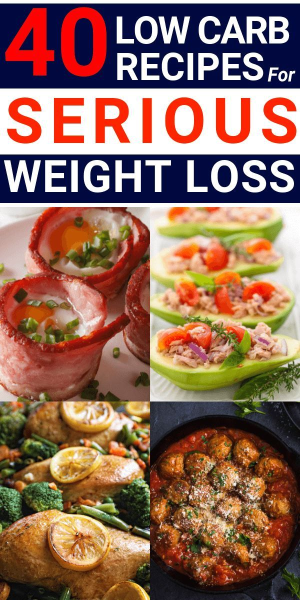 These low carb recipes will jumpstart your weight loss efforts and make meal pla...