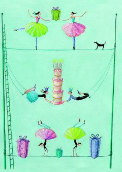Roger la Borde | Greeting Card by Mary Claire Smith (GC 1612)
