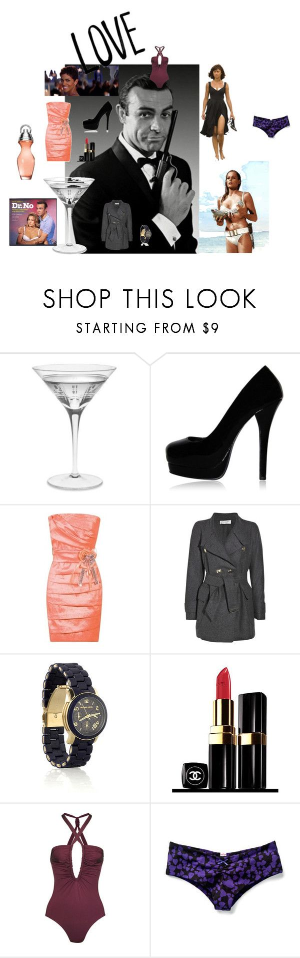"""007"" by pixiedust28 ❤ liked on Polyvore featuring James Bond 007, Prada, Williams-Sonoma, Yves Saint Laurent, Michael Kors, Chanel, Diane Von Furstenberg, Victoria's Secret, bond girl pictures and watch"