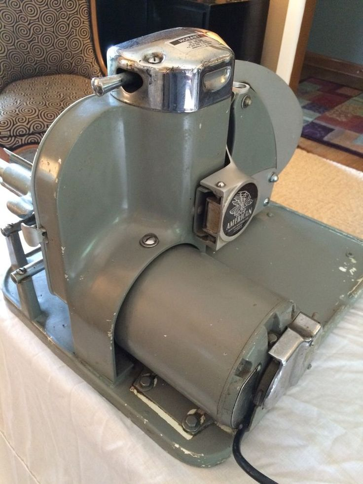 Vintage American Slicing Machine Model 50 Hobart Commercial Restaurant Slicer
