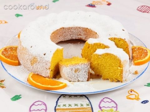 Casatiello dolce all'arancia   Cookaround