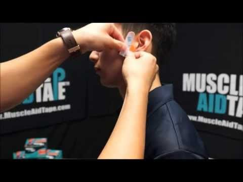 MuscleAidTape: TMJ & Jaw Pain - YouTube