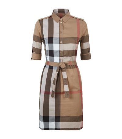 Cotton long shirt dresses