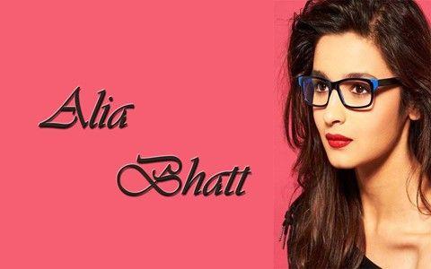 Alia Bhatt Cute Images in Specs