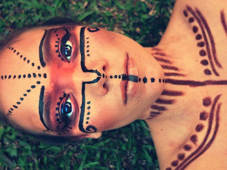 Bildergebnis für indianer make up