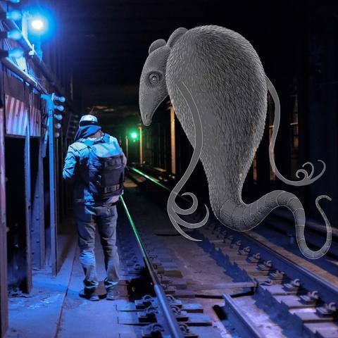 Ben Rubins subway Doodles Transform New York City Into A Fantastically Weird Place