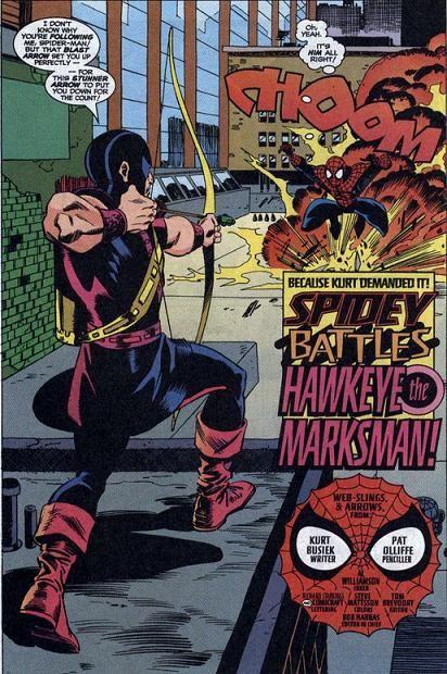 Spider-Man vs  Hawkeye...