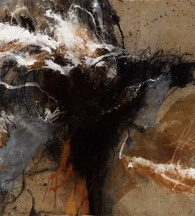© Sophie Cape ~ Theatre of Cruelty ~ 2012 mixed media on linen at Tim Olsen Gallery Sydney Australia