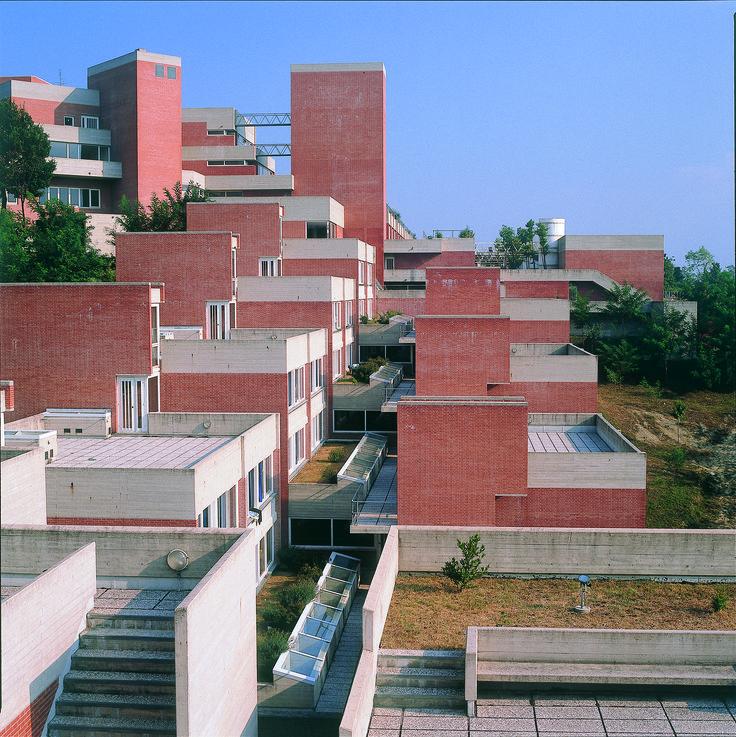 "Giancarlo De Carlo | ""Collegi"" buildings, 1962–1982, Urbino, Italy"