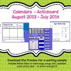 Do you have a Promethean Activboard and looking for ways to make the most of it but don't have the time to create your own calendar flipcharts - if...
