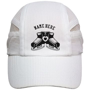 Women's Ice Hockey Hat   Personalize this Women's Ice Hockey Hat with your own custom text. Awesome Gifts for hockey moms, hockey fans, and hockey teams