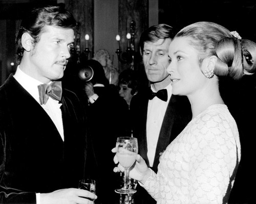 Roger Moore Princess Grace & Edward Meeks