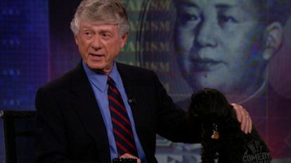 Ted Koppel | Jon asks Ted Koppel if America should let China win at the Olympics so they won't raise the price of stretch pants.