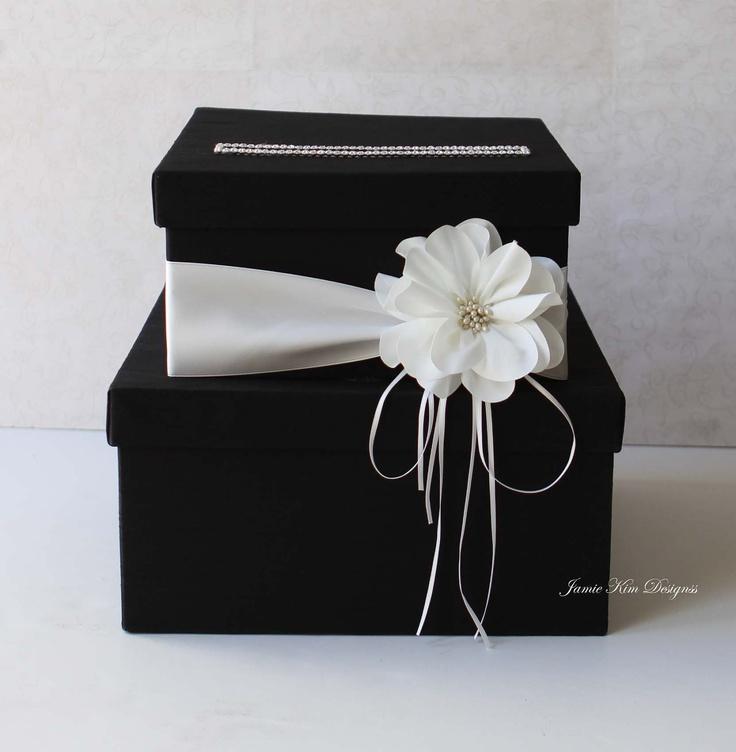 Wedding Card Box Wedding Money Box Gift Card by jamiekimdesigns, $102.00