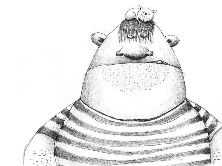 Bob the giant – andrearingli illustration