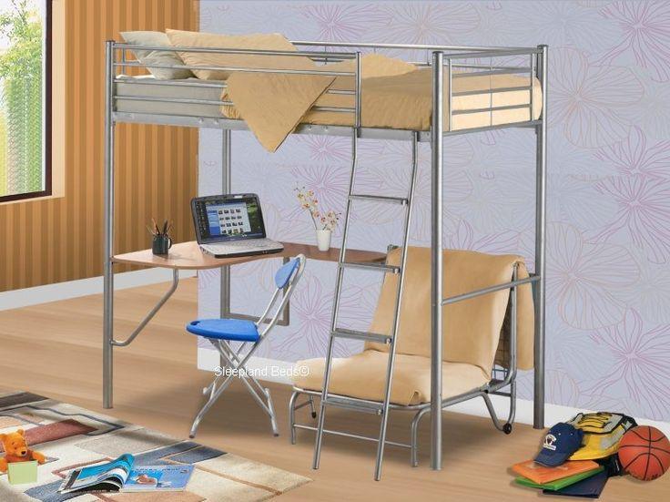 Best 27 Best Bunk Beds Images On Pinterest Bunk Bed With Desk 400 x 300