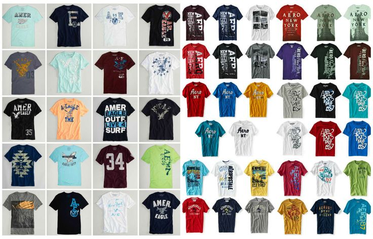 American Eagle & Aeropostale 40 Mens Graphic T Shirts From the Latest Collection #AmericanEagleOutfitters #GraphicTee