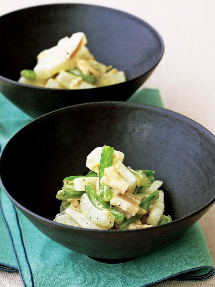 シャキシャキの歯応えも楽しい、フレッシュな味|『ELLE a table』はおしゃれで簡単なレシピが満載!