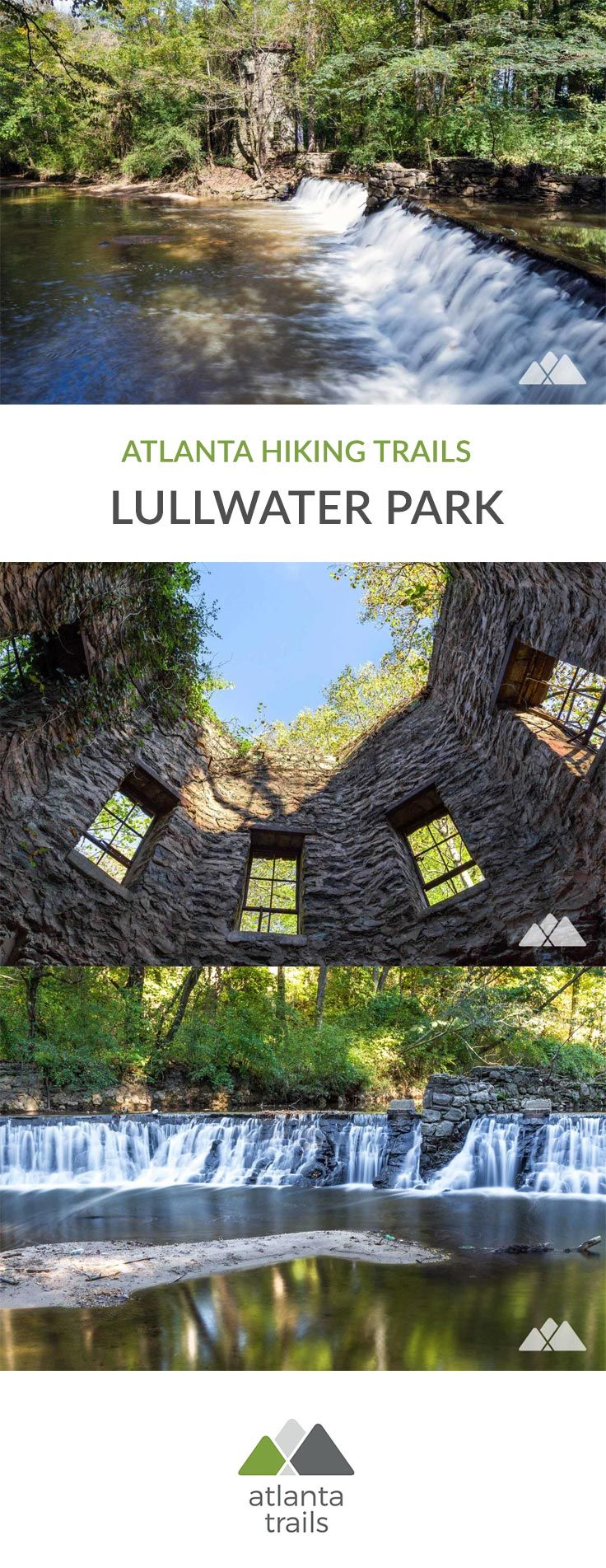 Run or walk the scenic trails at Lullwater Park.