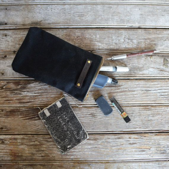 The Scribbler: Coal by Peg and Awl by PegandAwl on Etsy