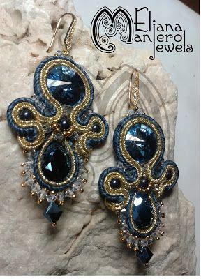 2014 soutache earrings Eliana Maniero Jewels - 2014