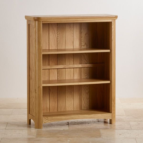 Natural Solid Oak Bookcases Small Bookcase Wiltshire Range