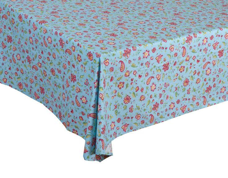 """Vence"" Rectangle Cotton Tablecloth"