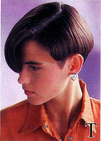 Perfect Pretty Cut, So Easily Femmed. Remember To Add Girly Big Hoop Earings  Though! Find This Pin And More On Soft Butch Hairstyles ...