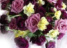 Ranunculus and roses. my favorite flowers!!