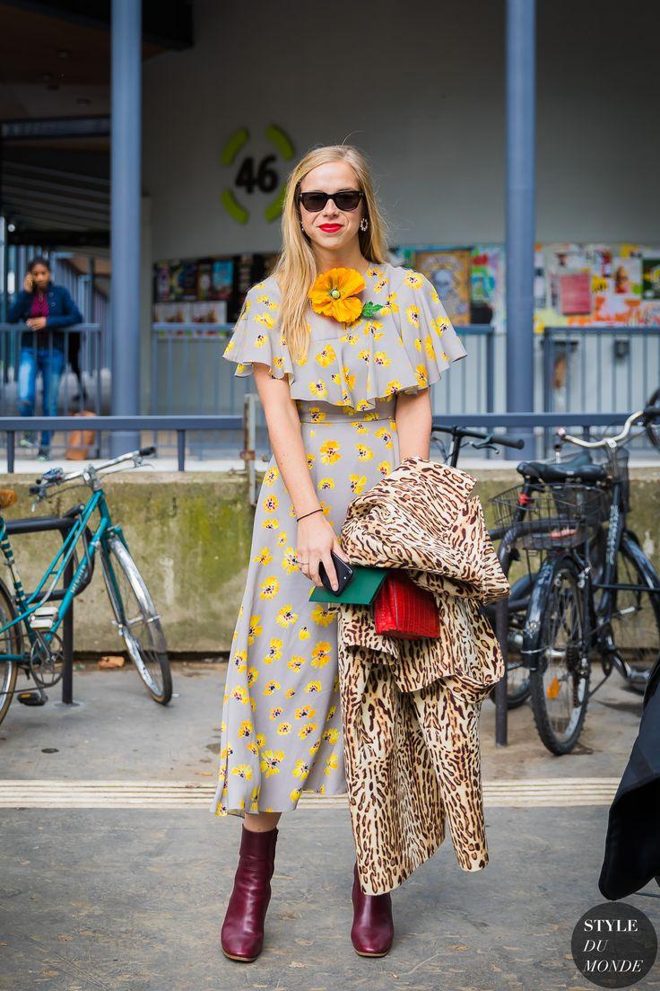 Paris SS 2018 Street Style: Chloe King