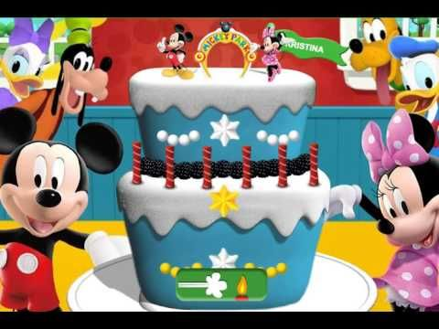 Mickey Mouse Clubhouse -Disney Junior Happy Birthday - Games for kids