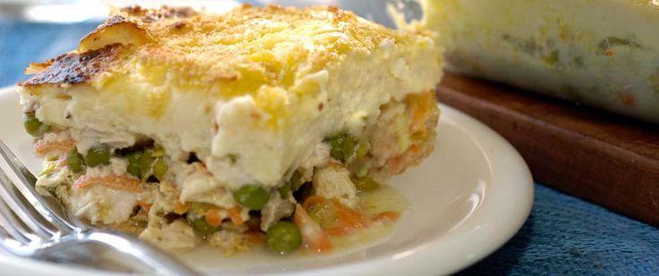 Pastel de papa y pollo   Las mejores recetas saludables encontralas en Viví Nestlé