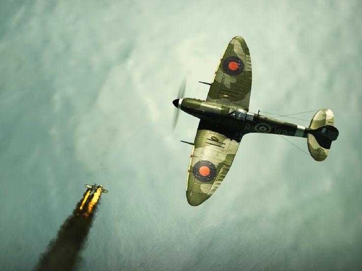 supermarine spitfire wallpaper hd backgrounds images - supermarine spitfire category