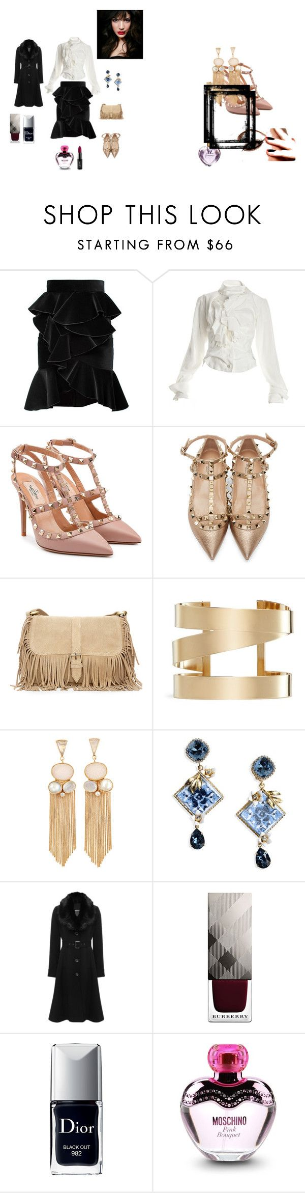 """Senza titolo #2"" by taniaazzini on Polyvore featuring moda, Balmain, Vivienne Westwood, Valentino, Isabel Marant, Dolce&Gabbana, M&Co, Burberry, Vera Wang e IVI"