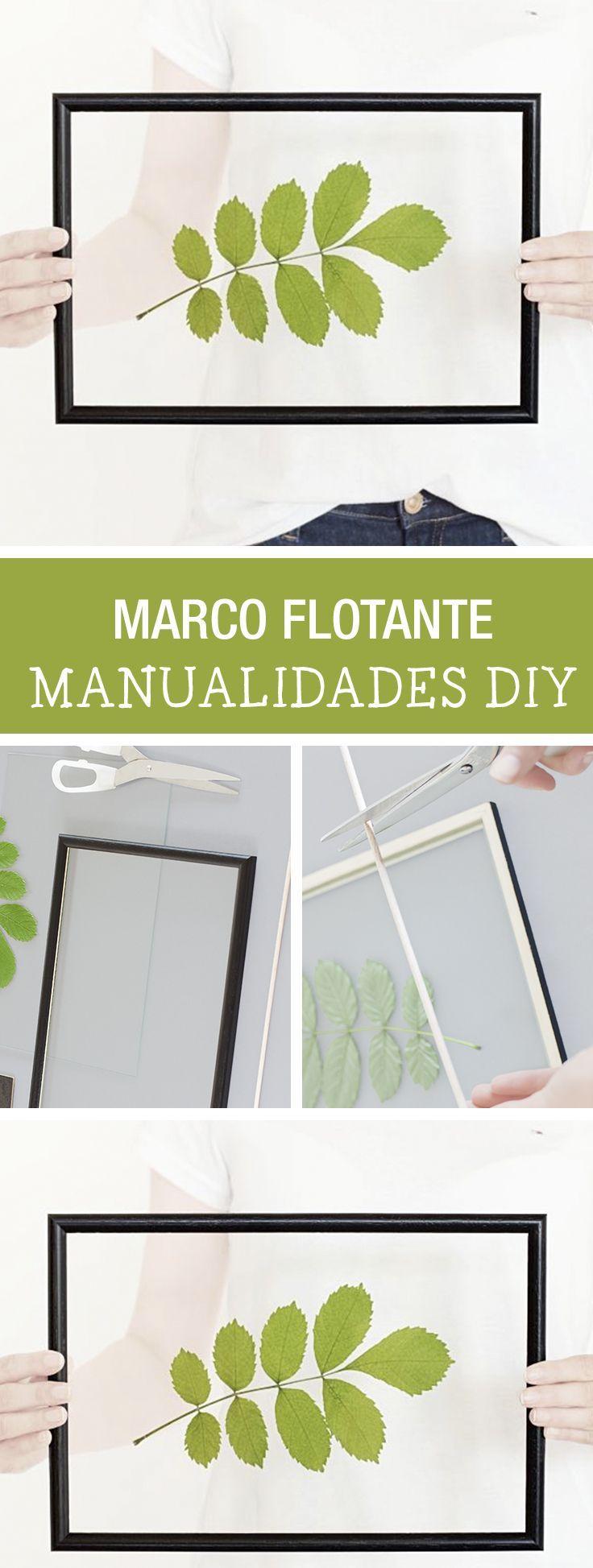 Tutorial DIY - CÓMO HACER UN MARCO FLOTANTE - Manualidades en DaWanda.es