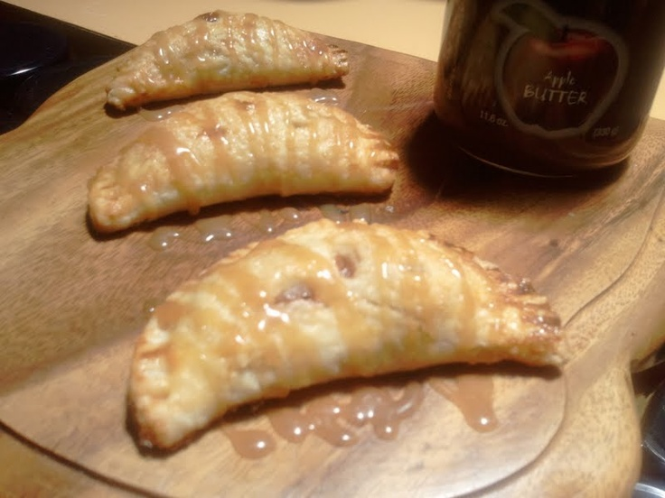 Hard Cider Apple Butter Hand Pies with a Hard Cider Caramel Cinnamon ...