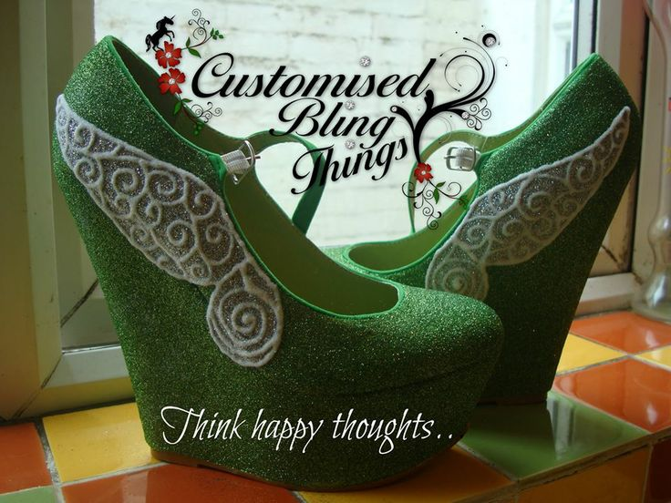 Tinkerbell wedges...