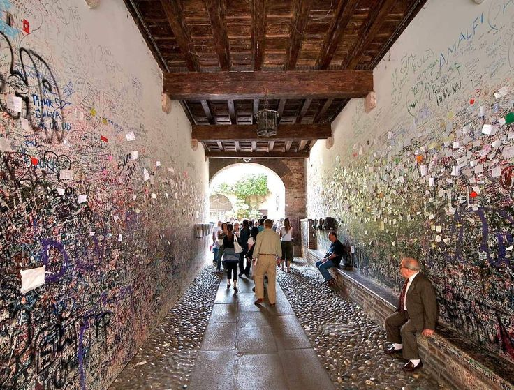 Juliette's house in Verona - http://archidom.info/?p=8672