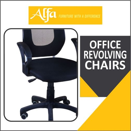 revolving chair price in jaipur steel models pin by alfa furniture mart on office manufacturer chandigarh punjab manufacturers