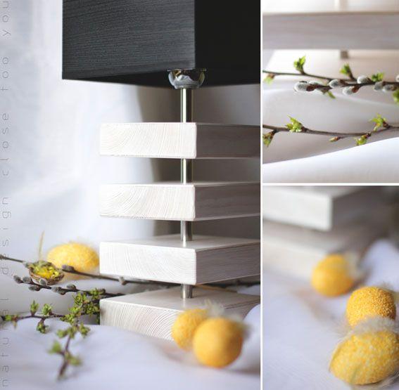 Inspiracje Wielkanocne Lightwood- Lampa LW02 biała