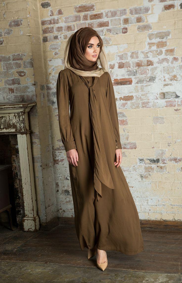 Long Tie Abaya | Aab