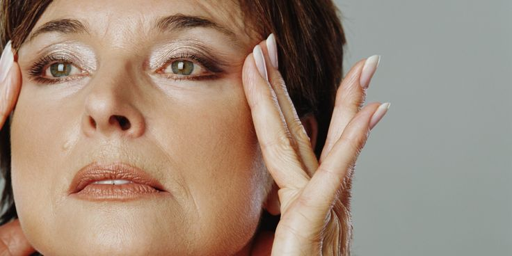 """Wrinkles can range from fine lines to deep grooves. Skin may sag or droop causing jowls and heavy eyelids. Hair loss or unwanted hair may develop over time. Your skin's texture may change. Your skin may become dry and rough. You may have """"age spots,"""" transparent skin, red capillaries, and skin lesions."""