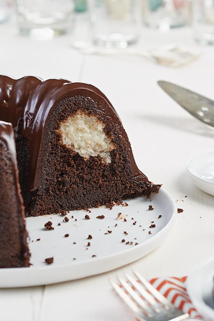 King Arthur Chocolate Macaroon Bundt Cake