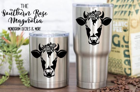 LIFE IS BETTER WITH COWS FARM CUTE FUNNY GRAPHIC DECAL STICKER DECOR