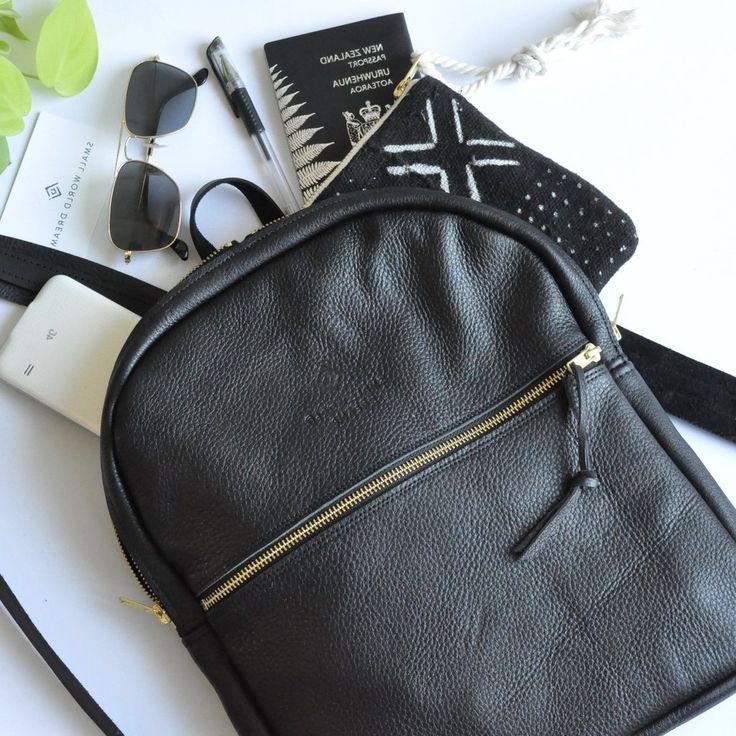 Classic Black Backpack