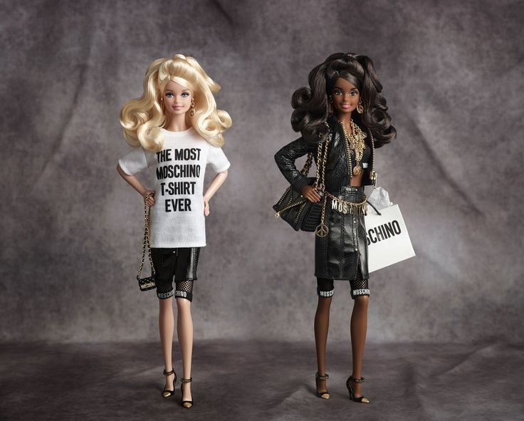 Moschino x Barbie - The buzz around Moschino's Barbie was twofold: First, doll collectors (of which there are apparently many) love a designer edition. But even more interestingly, the TV spot for the doll featured a young boy playing with Barbie—the first Barbie ad ever to feature a boy playing with the doll—sparking a dialogue around gender-neutral toys.