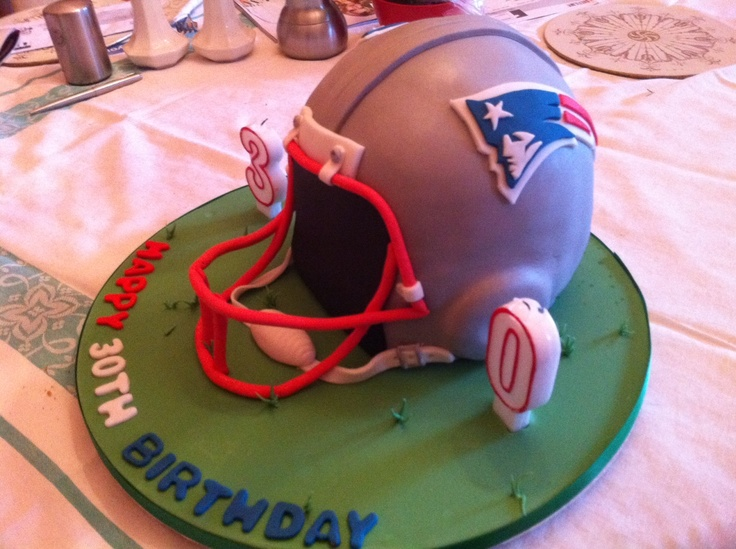 Patriots 30th birthday cake
