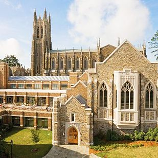 Duke University | 41 Scenic College Campuses That Were Made For Instagram (And that pic is where I just spent the last three years taking classes! W00T!)